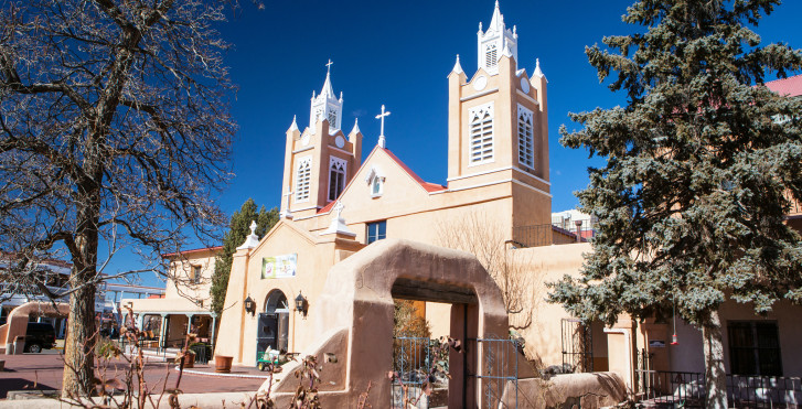 Kirche von San Felipe Neri, Albuquerque