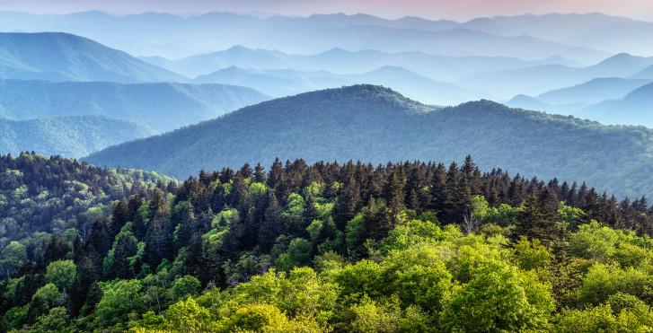Landschaft, Asheville
