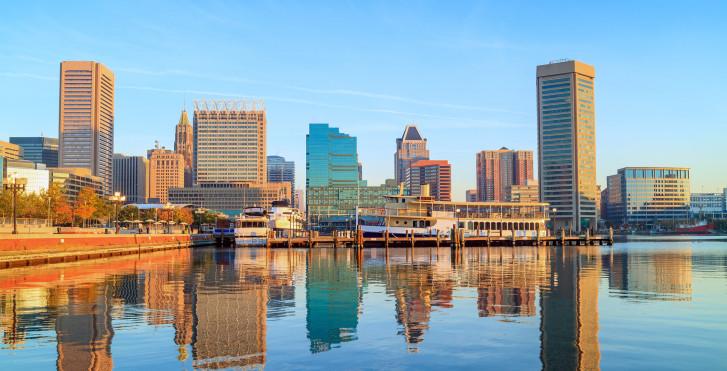 Skyline, Baltimore