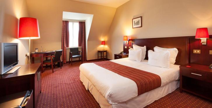 Chambre double Comfort - Hôtel Weinebrugge