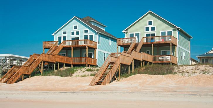 Maisons à la plage, Long Island