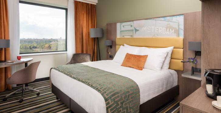 Chambre double Deluxe - Leonardo Royal Hotel Amsterdam