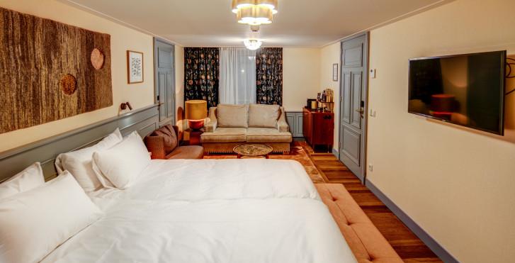 Chambre double Deluxe - Hôtel Mercier