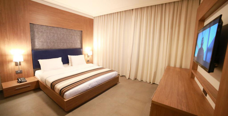 chambres - Urban Central Suites Beirut
