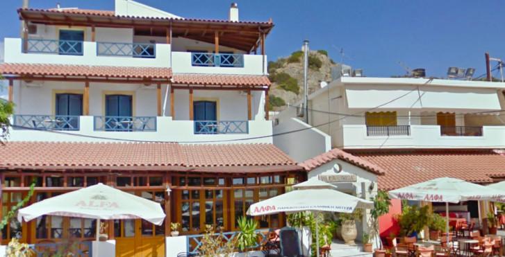 Sidonia Apartments - Studio Superior Vue latérale mer