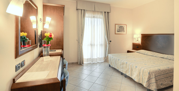 Doppelzimmer - Hotel Le Palme