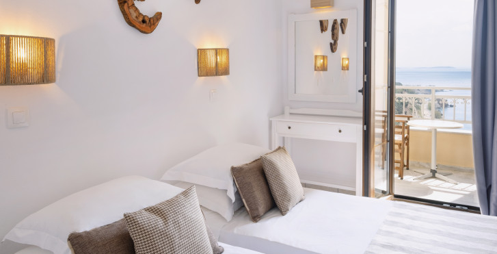Chambre double - Lithos Hotel