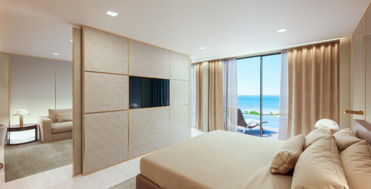 Suite Prestige Swim-Up - Hôtel Amarande