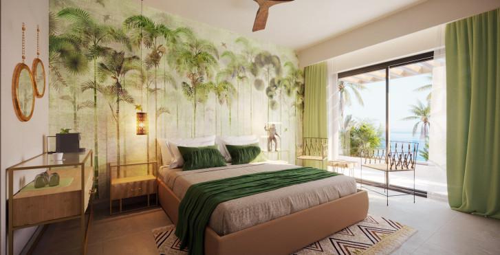 Chambre double vue mer - Pepper Sea Club Hotel