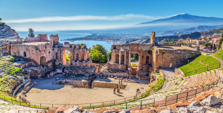 Taormina - Mietwagenrundreise Kultur- und Naturschätze Siziliens - inkl. Mietwagen