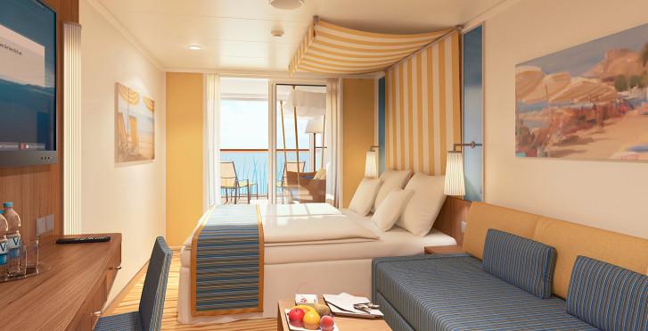 Kreuzfahrt Orient an Bord der AIDAprima