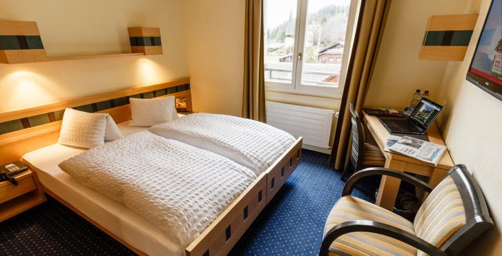 Doppelzimmer Comfort - Arenas Resort Victoria-Lauberhorn