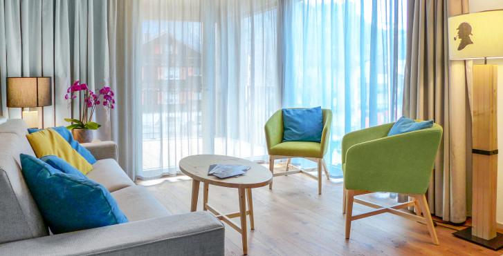 3-Zimmer-Appartement Sherlck Holmes - SWISSPEAK Resorts Meiringen - Skipauschale
