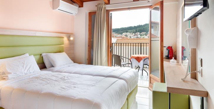 Chambre double - Hôtel Aggelos