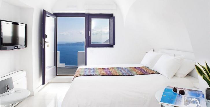 Doppelzimmer - Chromata Santorini