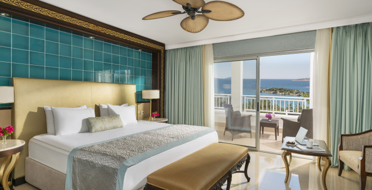 Doppelzimmer Deluxe mit Meersicht - Rixos Premium Bodrum