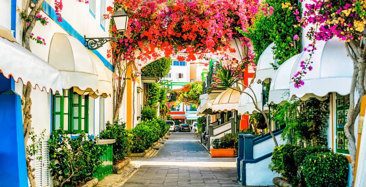 Gran Canaria - Kreuzfahrt mit Badeferien, Gran Canaria AIDAnova und Hotel Melia Tamarindos, San Agustin