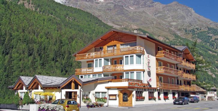Hotel Restaurant Eden Saas-Grund