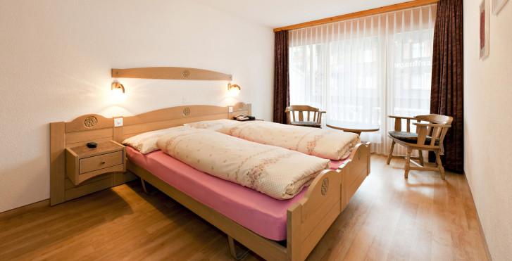 Chambre double - Hôtel Artemis