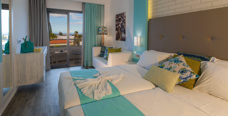 Doppelzimmer - Kyknos Beach Hotel & Bungalows
