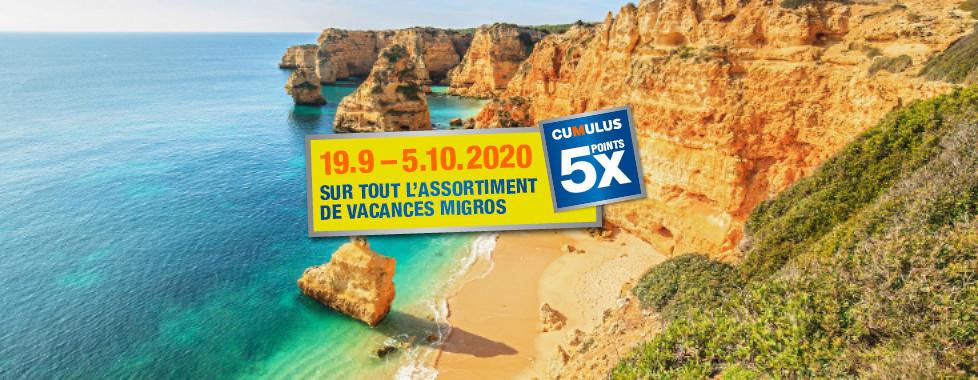 Vacances d'automne 2020 - Vacances Migros