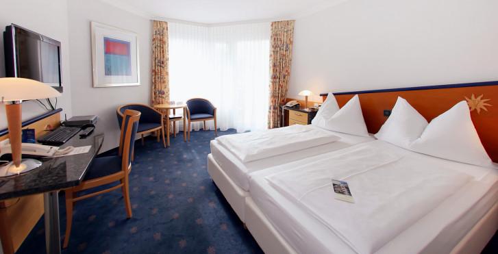 Chambre double Superior - Turmhotel Victoria