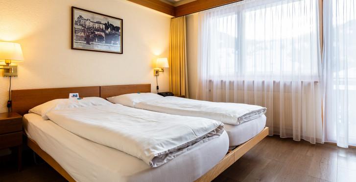 Chambre double - Hôtel Danilo - été remontées incl.