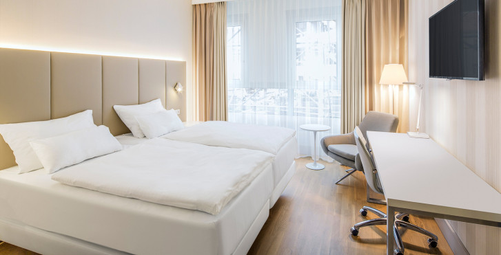 Doppelzimmer - NH Graz City