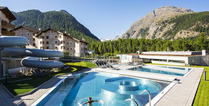 Centre aquatique de Bellavita - Hôtel Allegra - été, remontées mécaniques incl.*