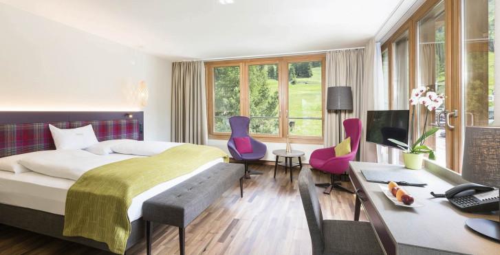 Chambre double - Hôtel Allegra - été, remontées mécaniques incl.*