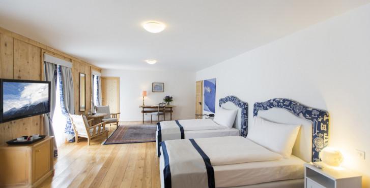 Doppelzimmer - Hotel Bernina 1865 - Sommer inkl. Bergbahnen*