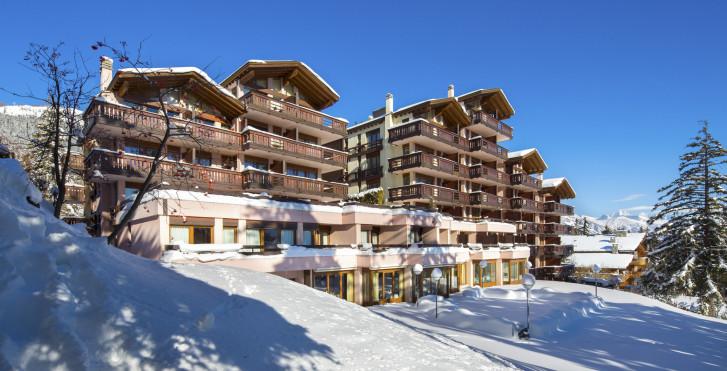 Helvetia Intergolf - hôtel (abo ski compris)