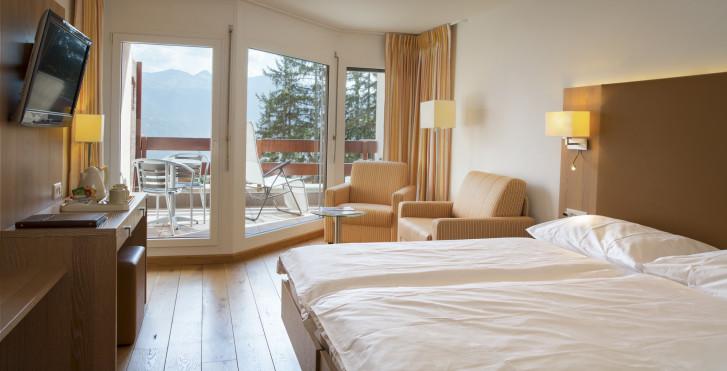 Chambre double Superior - Helvetia Intergolf - hôtel (abo ski compris)