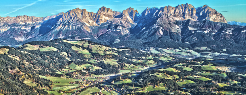 Aussicht über das Brixental