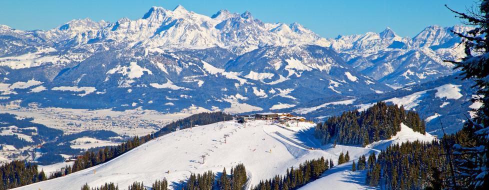 Vue sur le Brixental