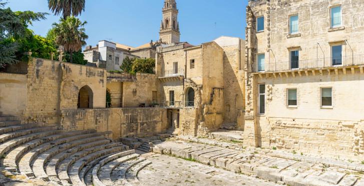 Stadtszene in Lecce