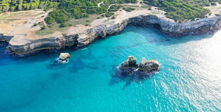 Strand von Salento, Provinz Lecce