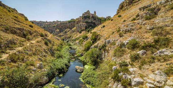 Landschaft bei Matera