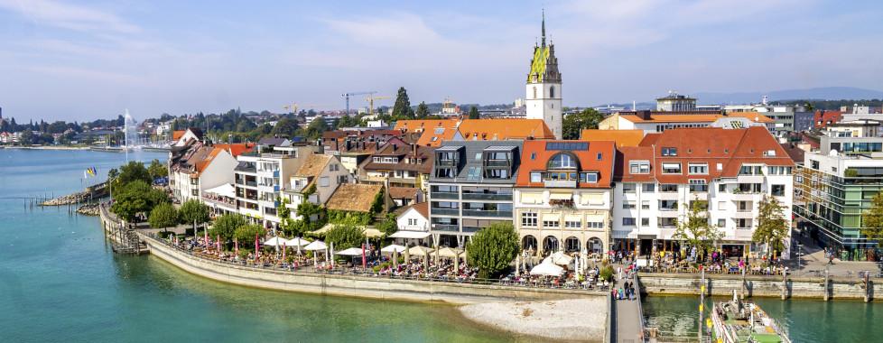 Küste von Friedrichshafen