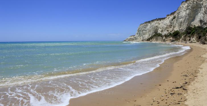 Strand von Capo Bianco, Ereclea Minoa