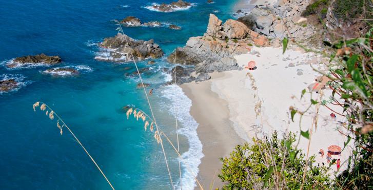 Strand in der Gegen von Lamezia