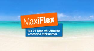 MaxiFlex - bis 21 Tage vor Abreise kostenlos stornieren - Rhodos
