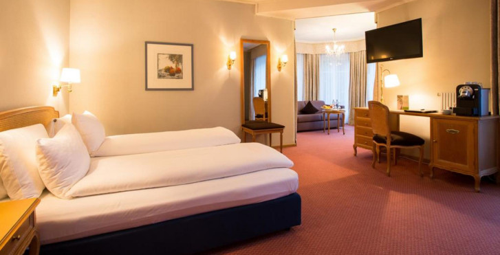 Chambre double - Lindner Grand Hotel Beau Rivage