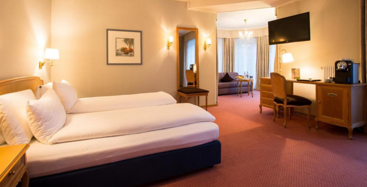 Doppelzimmer - Lindner Grand Hotel Beau Rivage