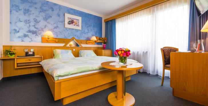 Chambre double - Hôtel Alpenlodge Etoile