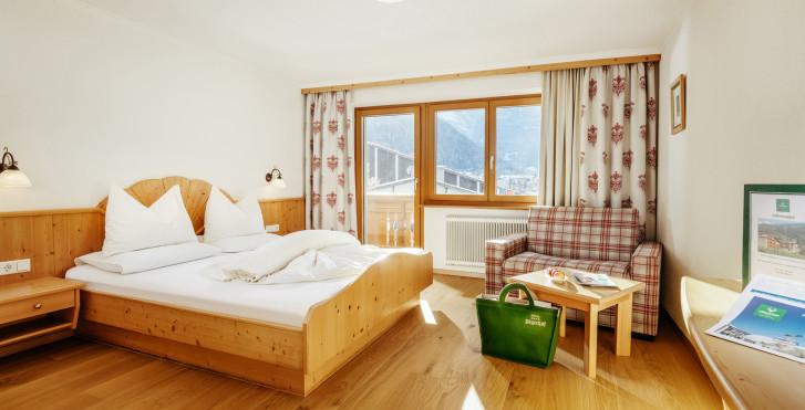 Chambre double - Hôtel Jägerhof