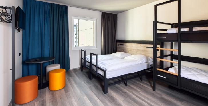 Chambre familiale - a&o Frankfurt Ostend