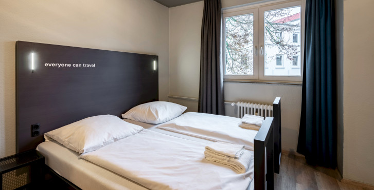 Doppelzimmer - a&o Hamburg Reeperbahn