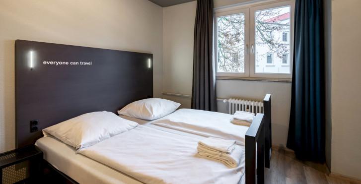 Chambre double - a&o Hamburg Reeperbahn