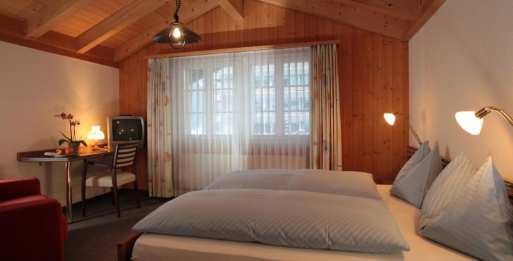 Doppelzimmer - Hotel Steinbock